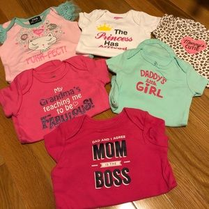 Other - (5) 3-6 month onesies and (2) 6 month onesies.